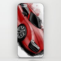audi iPhone & iPod Skins featuring R8 V10 by an.artwrok