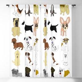 Pet dogs design Blackout Curtain