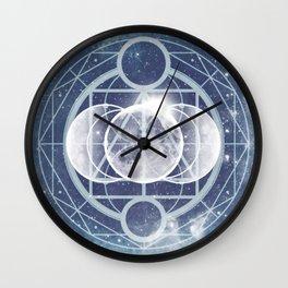Alchemy: Lunar Phases Wall Clock