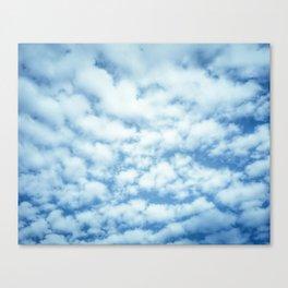 Swiftly Across the Sky Canvas Print