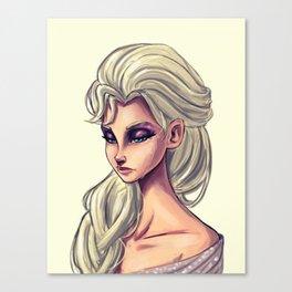Queen Elsa Canvas Print