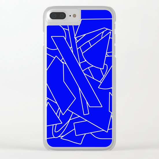 BluE humble Clear iPhone Case