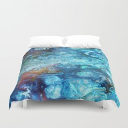 Blue Souls Duvet Cover