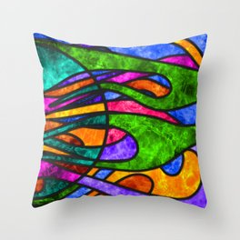 SG Phyre, panel 2 Throw Pillow
