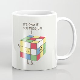 it's okay if you mess up! Coffee Mug