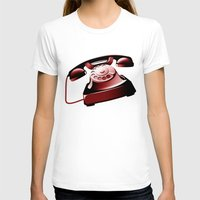 telephone T-shirts featuring TELEPHONE by Ylenia Pizzetti
