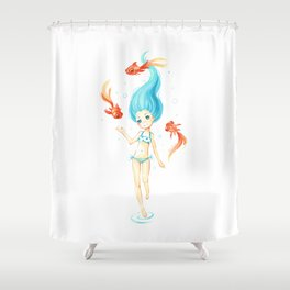 Coral 2 Shower Curtain
