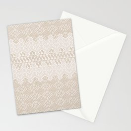 Akra in Tan Stationery Cards