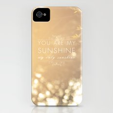 You Are My Sunshine Slim Case iPhone (4, 4s)