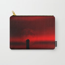 sunset, moon and flight limiting lights Carry-All Pouch