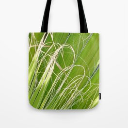 Palm Fan Art Tote Bag