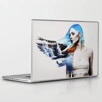 frozen Laptop & iPad Skins featuring Frozen by EclipseLio