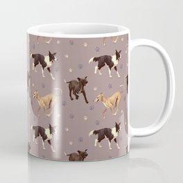 Rescue Dogs Pattern Coffee Mug