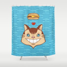 Hai    !!!!   I Can Haz Cheezburger? Shower Curtain