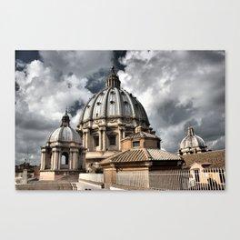 The Vatican, Rome Canvas Print