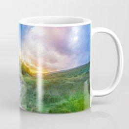 Sunset summer in Wicklow Mountains Coffee Mug
