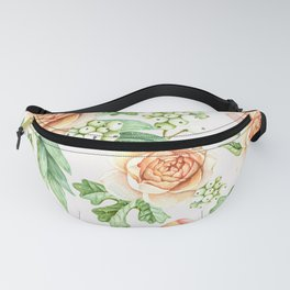 FLOWERED NATURE II Fanny Pack