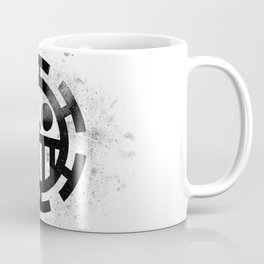 One Piece Trafalgar Law logo Coffee Mug