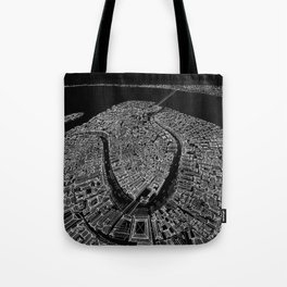 Venice in BW Tote Bag