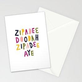 Zipadeedoodah Zipadeeaye Stationery Cards