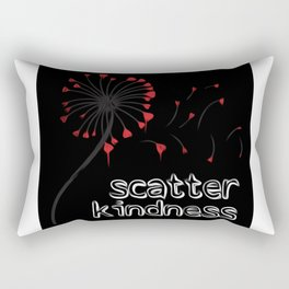 Scatter Kindness Rectangular Pillow