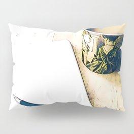 Journal and Tea Pillow Sham
