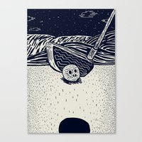 golf Canvas Prints featuring Golf by Ido Back
