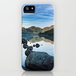 Llyn Crafnant iPhone Case