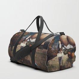 Flight of Fancy (Steampunk) Duffle Bag