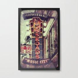 Nashville Crossroads Metal Print