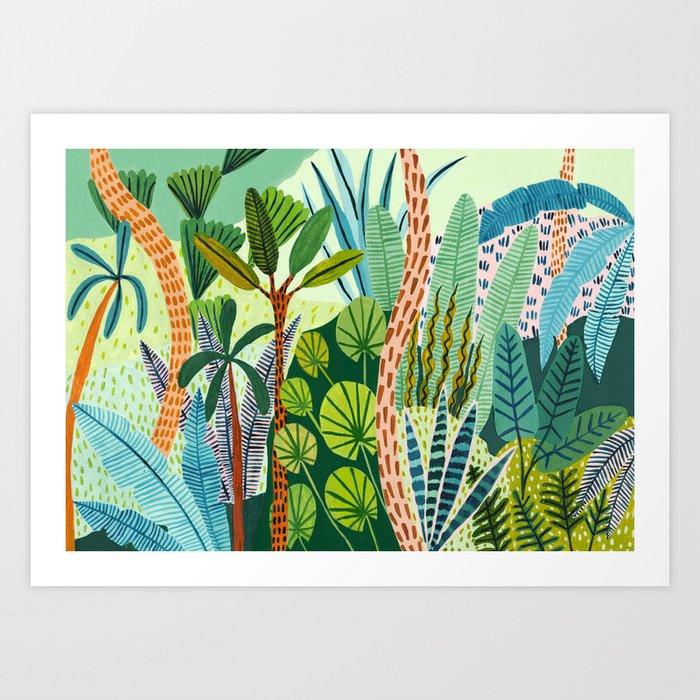 Malaysian Jungles Art Print