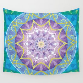 Mandalas from the Voice of Eternity 6 Wall Tapestry