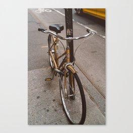New York Bicycle Canvas Print