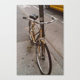 New York Bicycle Canvas Print