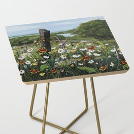 Wild Daisies Side Table