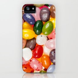 Cool colorful sweet Easter Jelly Beans Candy iPhone Case