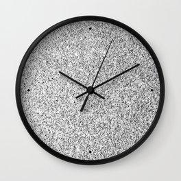 Beautiful Silver glitter sparkles Wall Clock