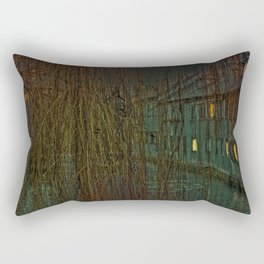 Concept landscape : Mystic mood in the city Rectangular Pillow