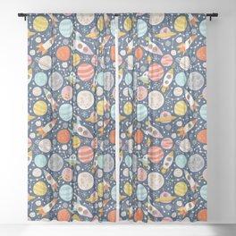 Space Sheer Curtain