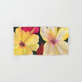 My Great Big Hibiscus Flowers Hand & Bath Towel