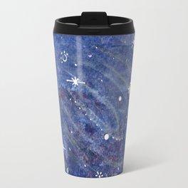 Silver Galaxy Travel Mug