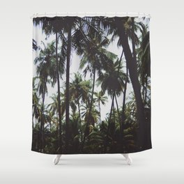 FOREST - PALM - TREES - NATURE - LANDSCAPE - PHOTOGRAPHY Shower Curtain