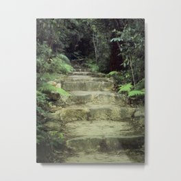 Steps to losing yourself Metal Print
