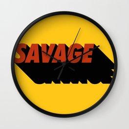 Savage 08 Wall Clock