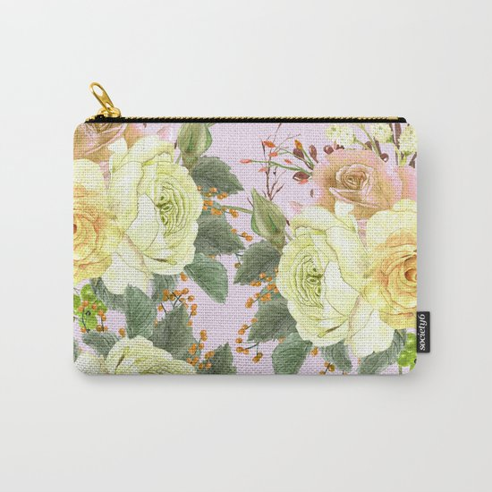Watercolor Roses #4 Carry-All Pouch