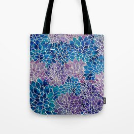 Floral Abstract 34 Tote Bag