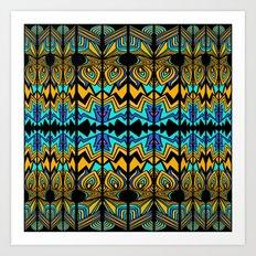 Geometric_04_analuisa Art Print