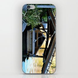 Sheltered Boat iPhone Skin