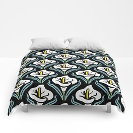 Calla Lily Pattern Comforters