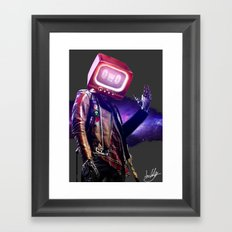 Robo Framed Art Print